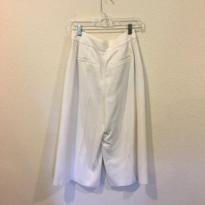 Madewell Pants - Madewell white culotte pants